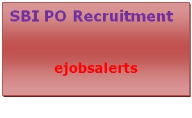SBI PO Recruitment 2017