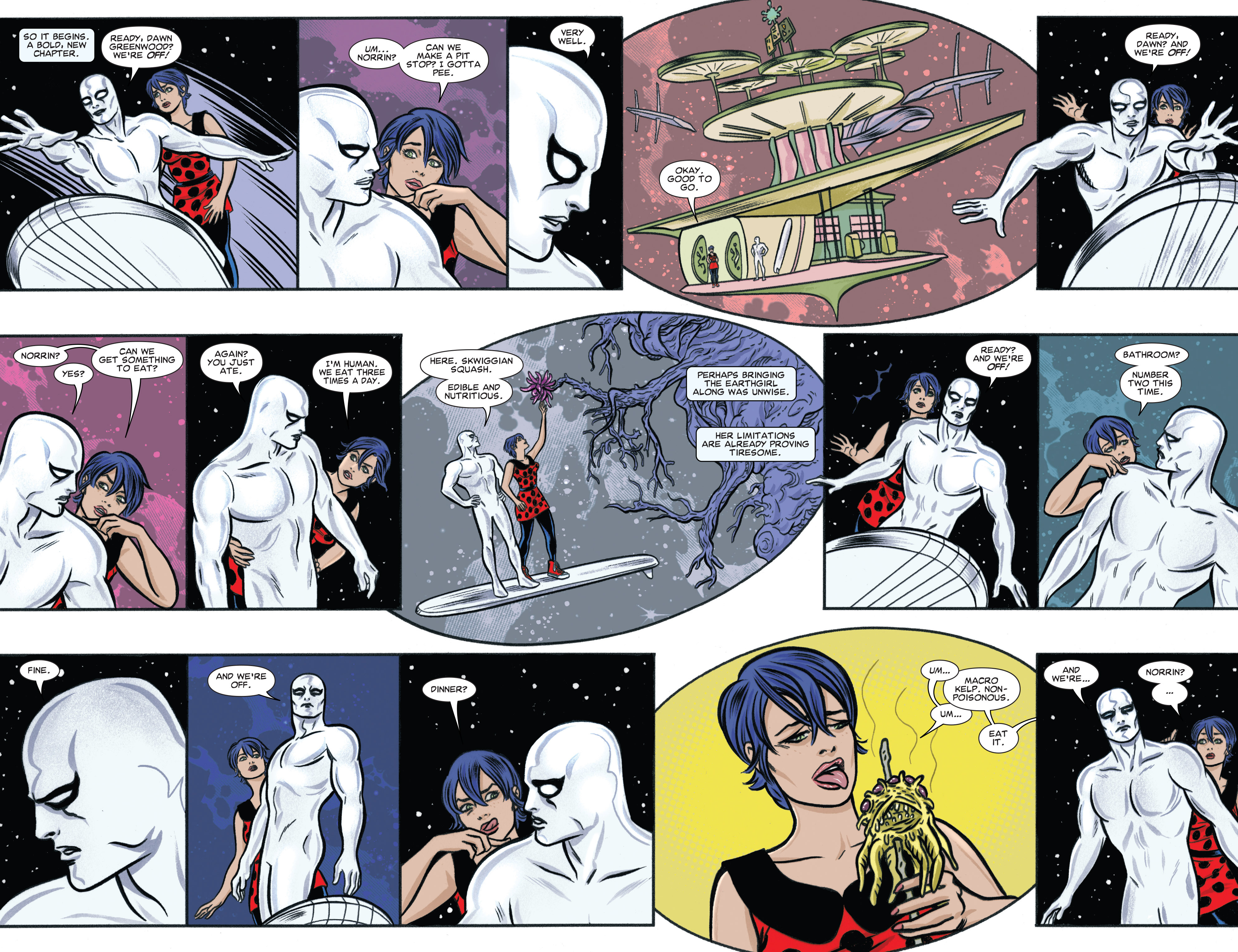Read online Silver Surfer (2014) comic -  Issue #6 - 5