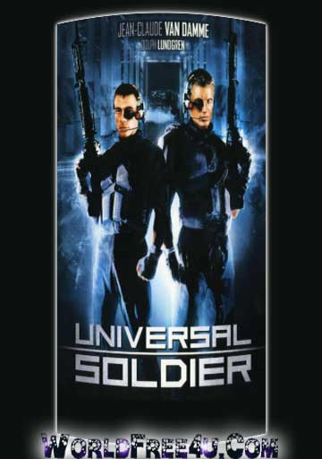 Poster Of Universal Soldier (1992) In Hindi English Dual Audio 300MB Compressed Small Size Pc Movie Free Download Only At worldfree4u.com