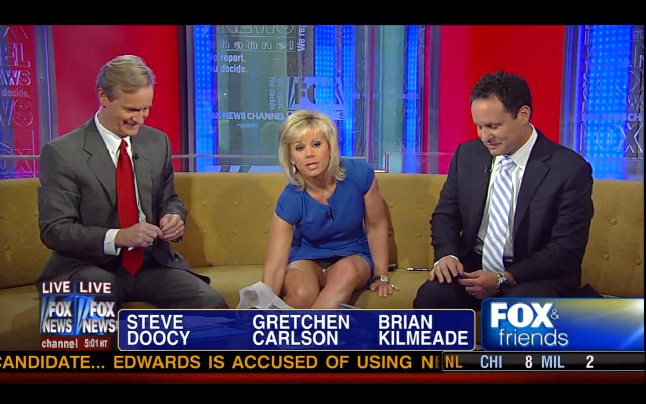 Reporter Fox News Caps With Gretchen Patti Ann And