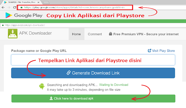 Cara Mendowload APK di PC Android dan Playstore