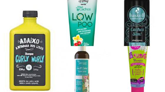 shampoo cabelos cacheados low poo