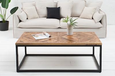 konferenčné stolíky Reaction, nábytok z masívu a kovu, nábytok do obývačky