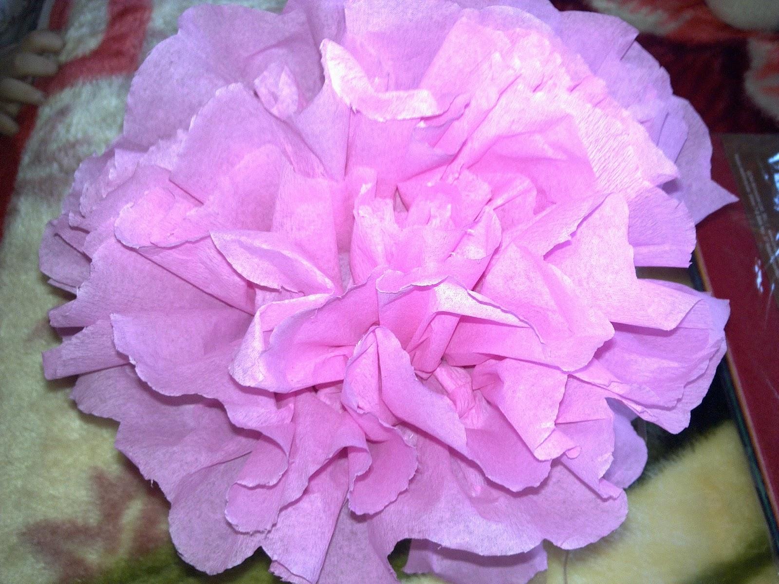 Yelpaze Çiçek Yapımı