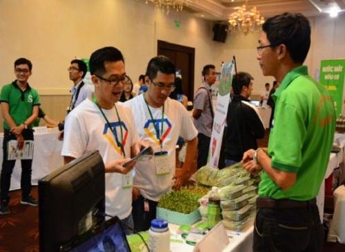 HB giới thiệu sản phẩm rau mầm - rau hữu cơ