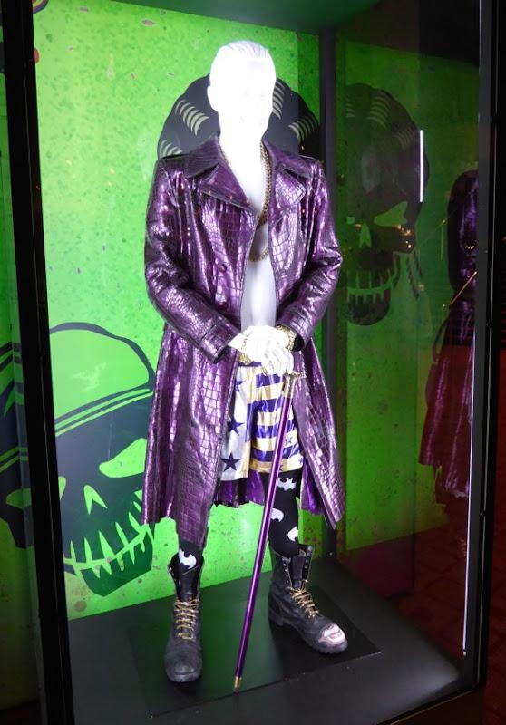 Jared Leto Joker costume Suicide Squad
