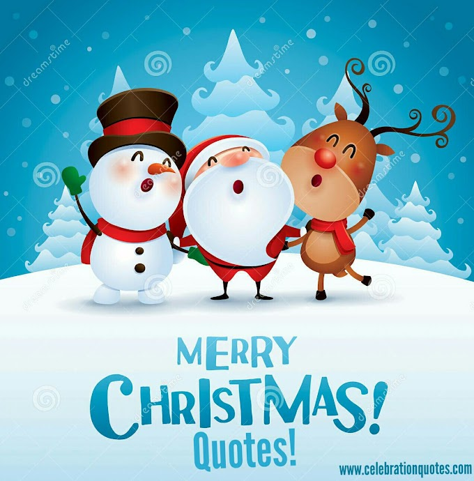 Wishing Marry Chirstmas Quotes.