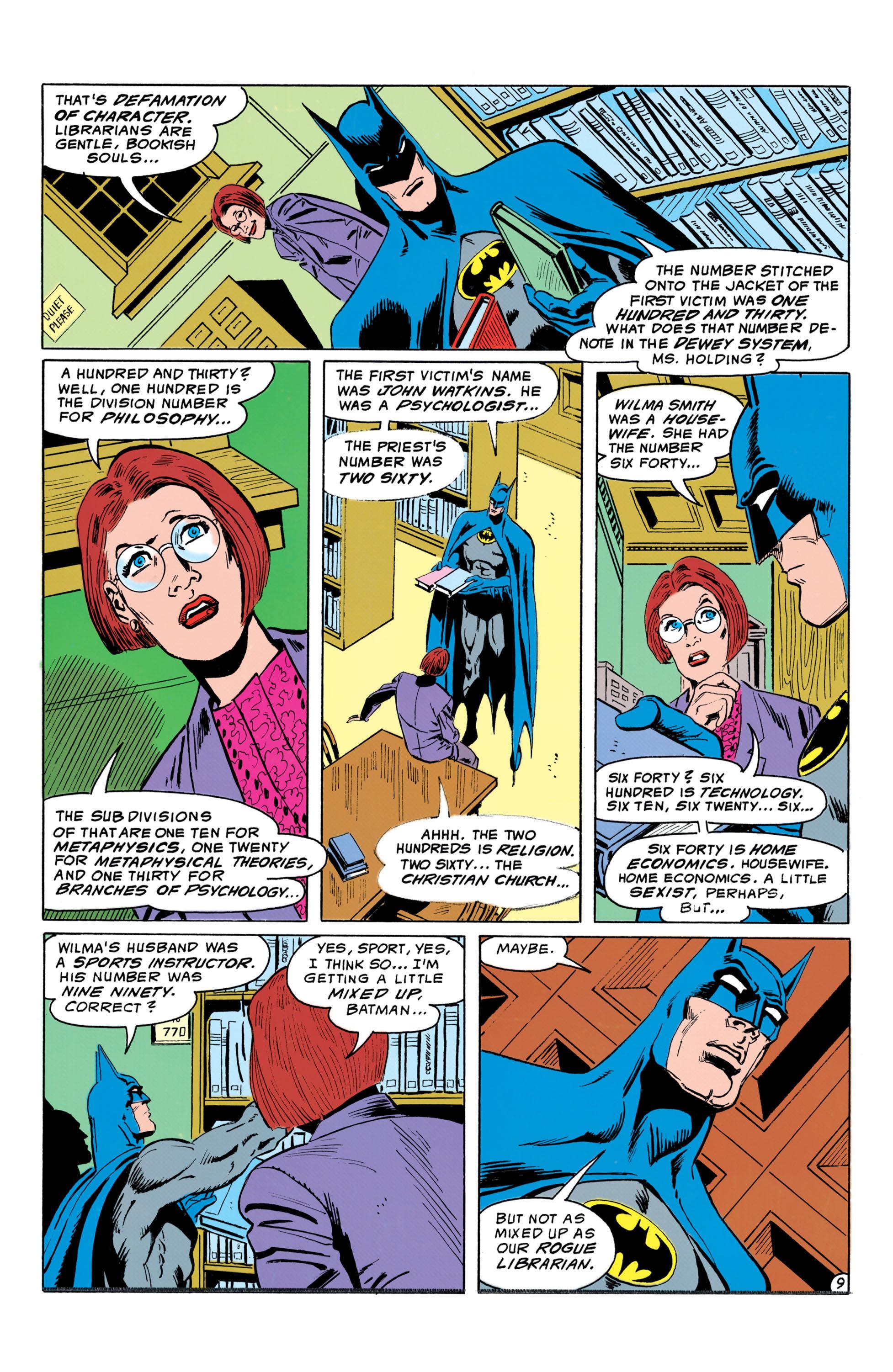 Detective Comics (1937) 643 Page 9