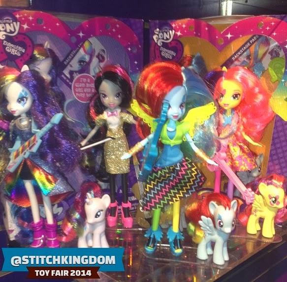 Rainbow Rocks themed dolls and brushables