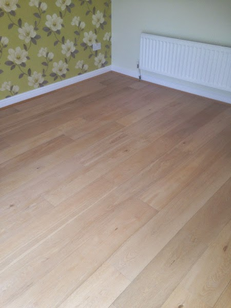 Oak after deep cleaning