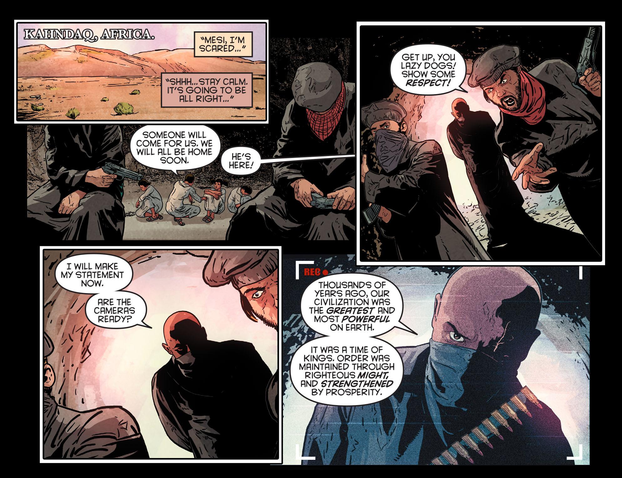 Read online Arrow: Season 2.5 [I] comic -  Issue #5 - 21