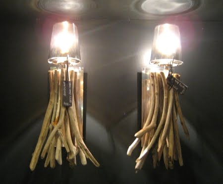 Coastal Lighting At Abc Carpet Home In New York City Driftwood Table Lamp