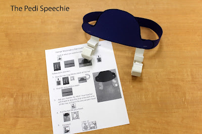 speech therapy following directions activity