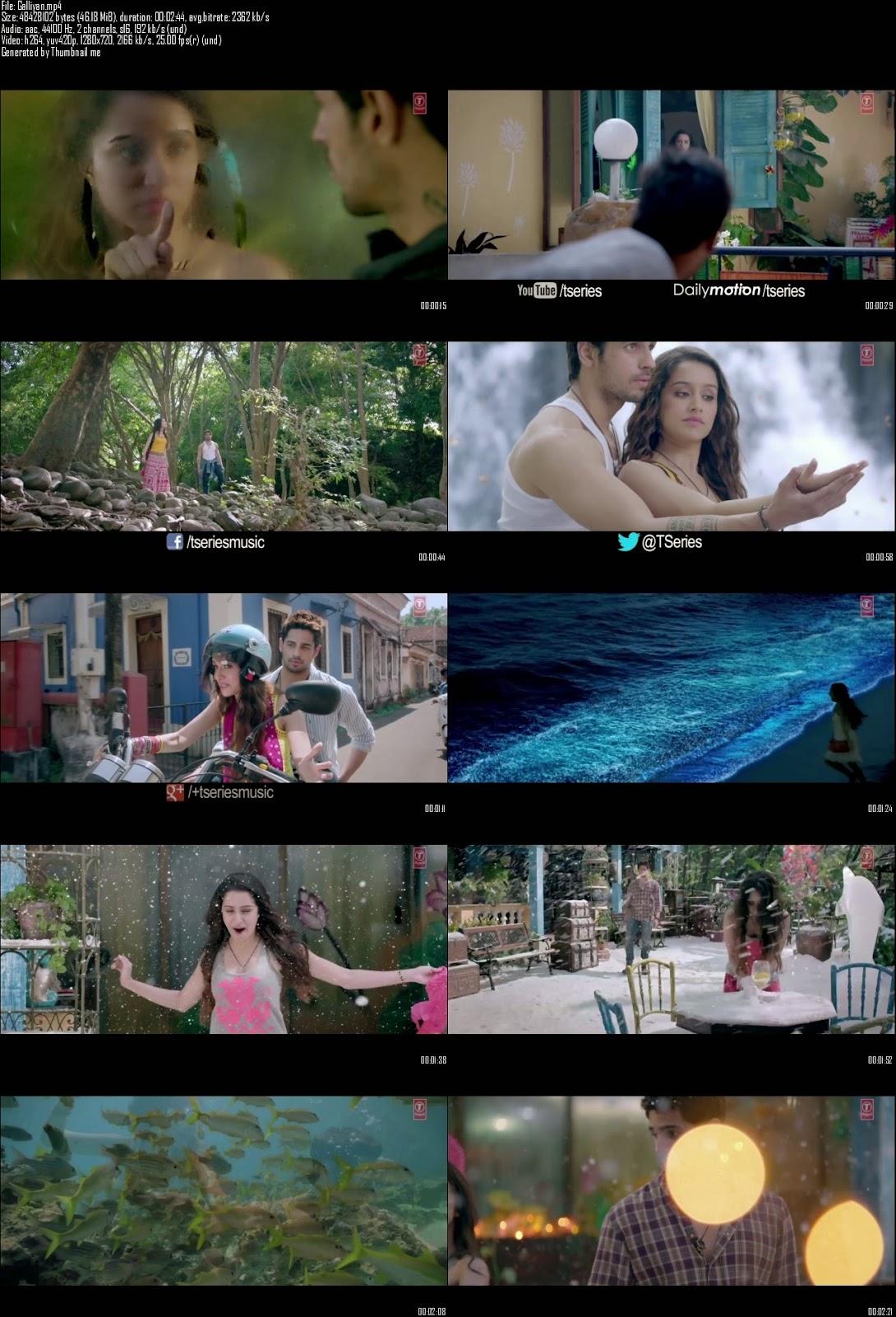 Mediafire Resumable Download Link For Video Song Galliyan - Ek Villain (2014)