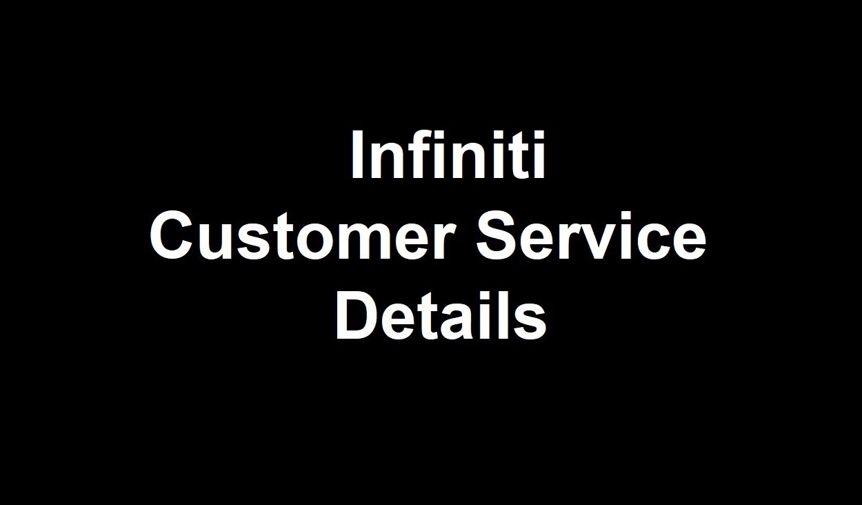 Infiniti Customer Service Number