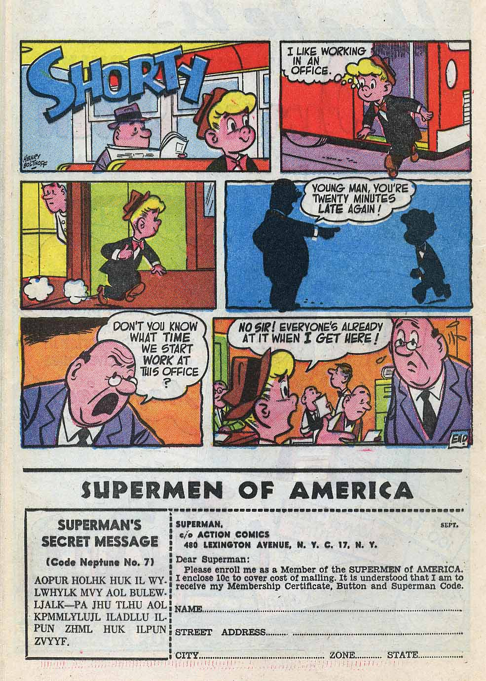 Read online Action Comics (1938) comic -  Issue #196 - 24
