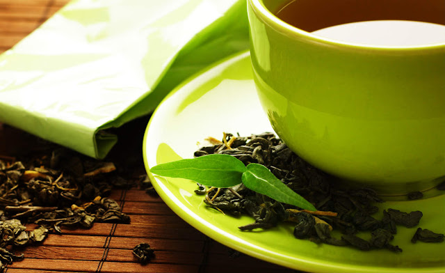 Green tea helps even to lose weight