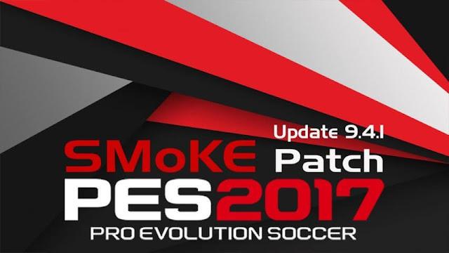 PES SMoKE Patch 9.4.1 PES 2017