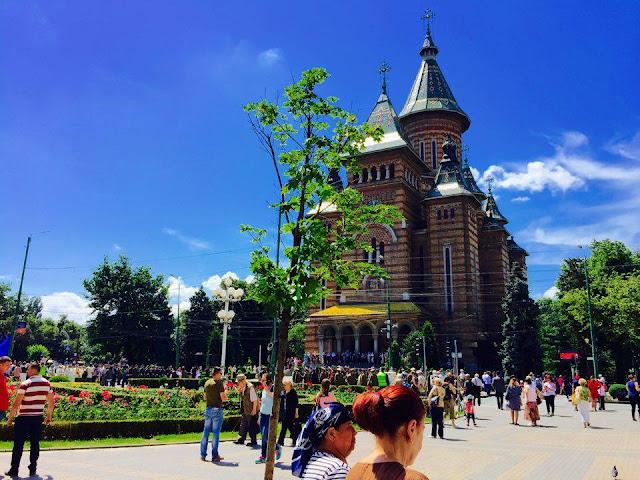 FOTO: Inaltarea Domnului la Timisoara - 09 iunie 2016