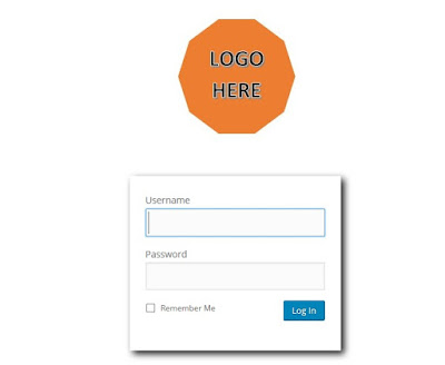 customize wordpress login logo