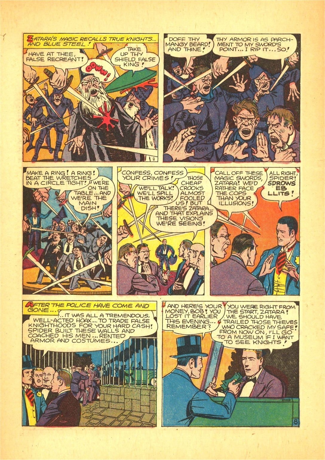 Read online Action Comics (1938) comic -  Issue #72 - 56
