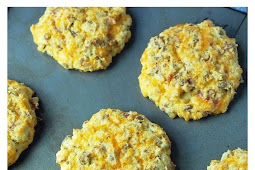 Keto Diet-Friendly Savory Breakfast Cookies