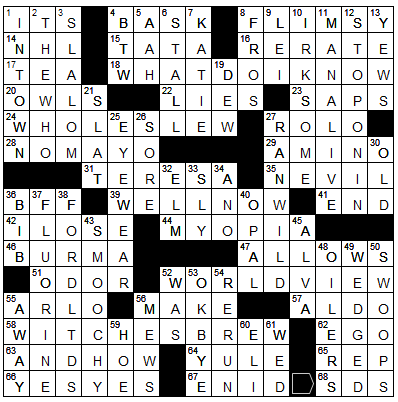 Latimes crossword corner tuesday march 27 2018 bruce haight and ttp ccuart Image collections