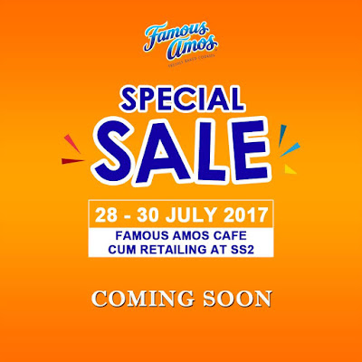 Famous Amos Malaysia Sale Chocolate Cookies Chips Discount Offer Promo