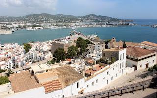 Barrio de la Marina en Ibiza