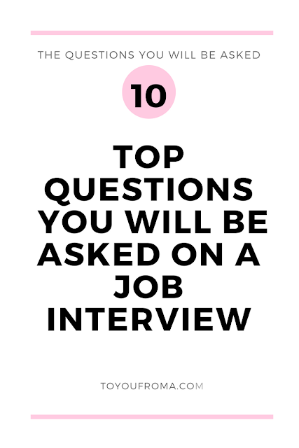 The top most asked interview questions you will be asked in an interview