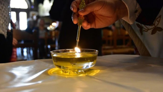 Μεγάλη Τετάρτη: Το Αγιο Ευχέλαιο για θεραπεία πάσης ασθένειας