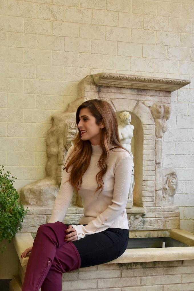 Rosa in inverno: ecco come indossarlo