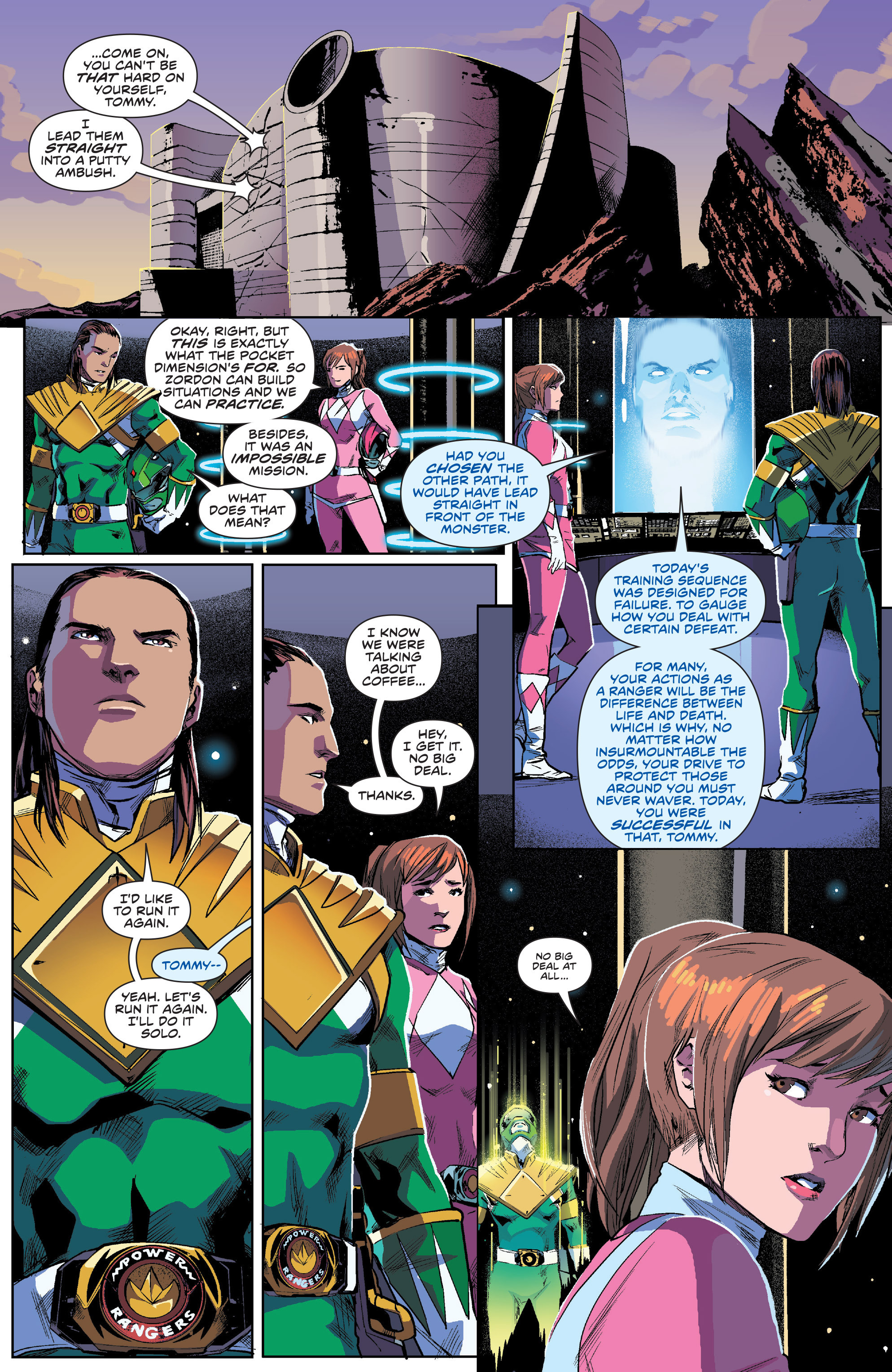 Read online Mighty Morphin Power Rangers comic -  Issue #1 - 19