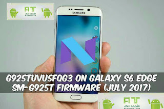 الروم الرسمي Nougat Galaxy S6 Edge SM-G925T - اندرويد الجمالي