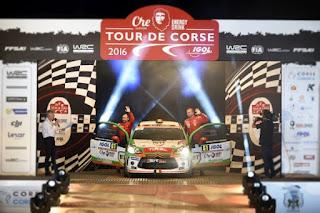 Simone Tempestini si Giovanni Bernacchini - Turul Corsicii - JUNIOR WRC