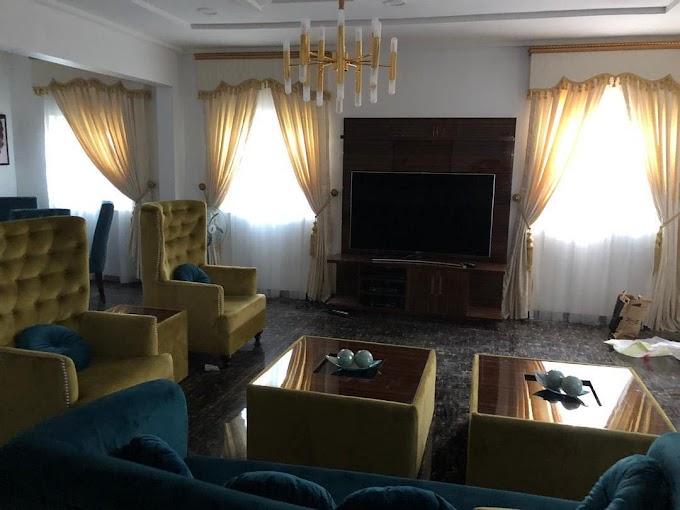 KANNYWOOD: Finally Hadiza Gabon Owns A Very Big Manssion