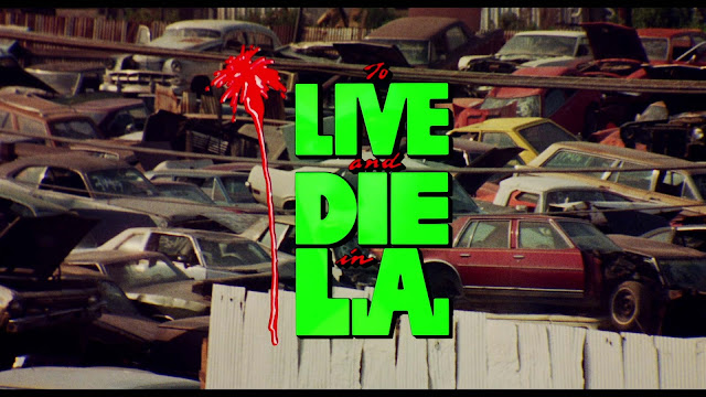 Opening Credits To Live and Die in L.A. (1985). Quelle: Screenshot Arrow Blu-ray