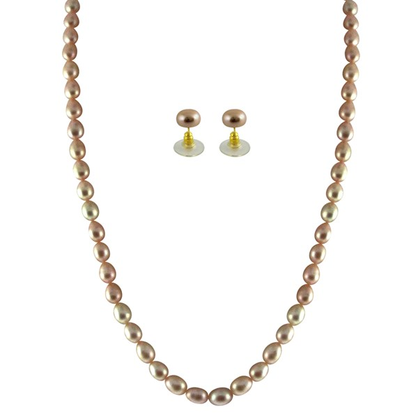 a4bbd519286 Real Natural Pearl Set is Best Jewelry Gift that can be given to ...