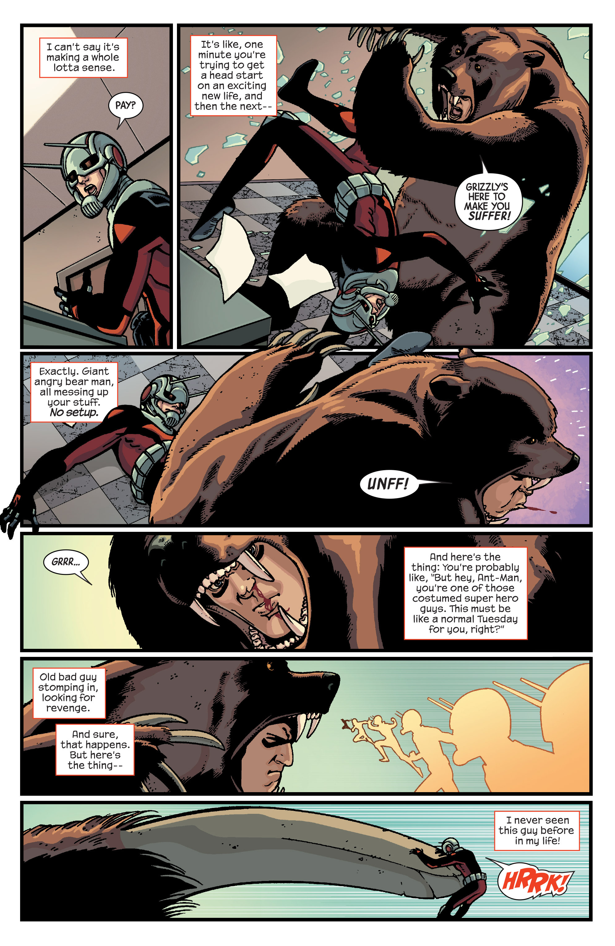 Read online Ant-Man comic -  Issue #2 - 4