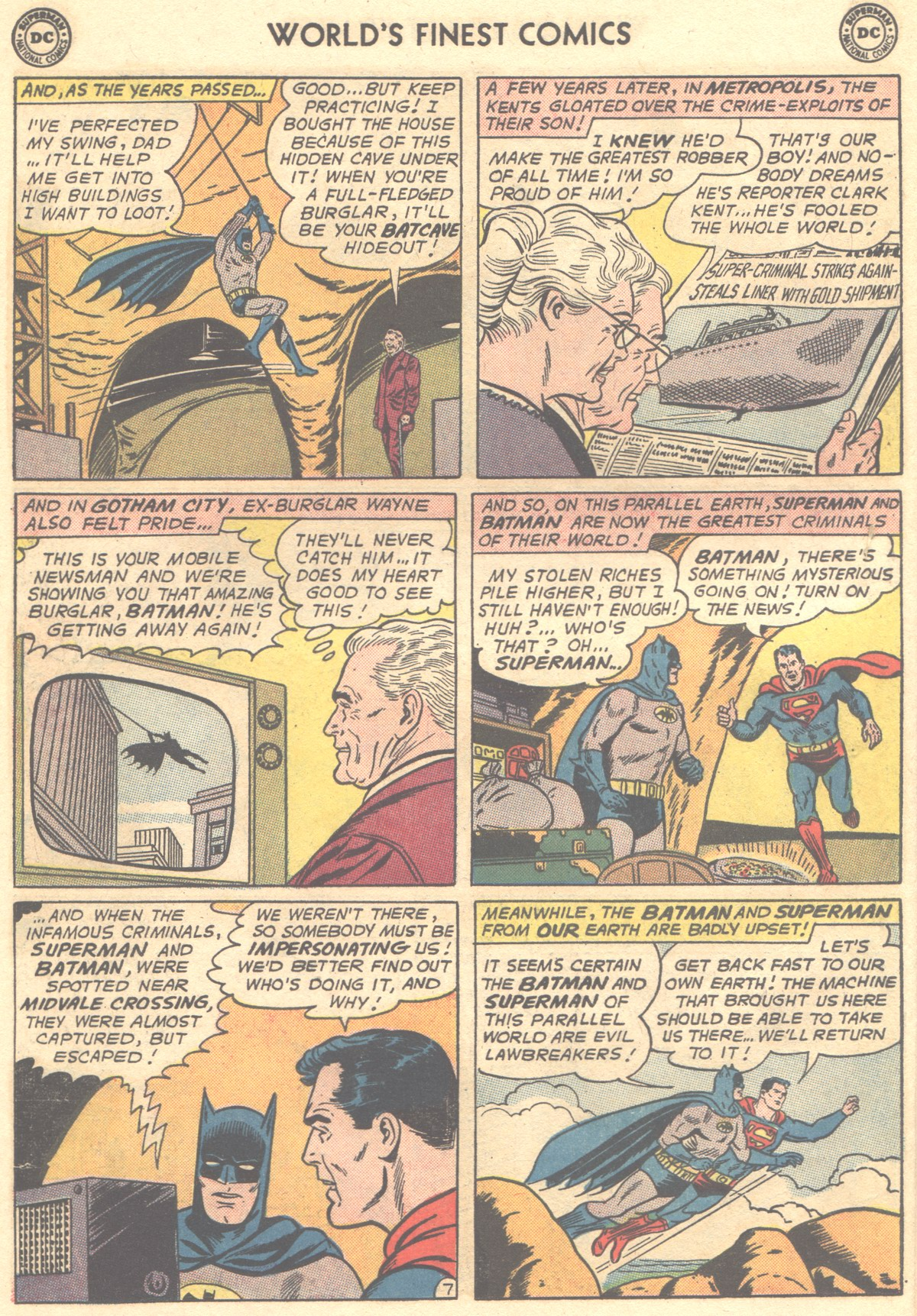 Read online World's Finest Comics comic -  Issue #148 - 10