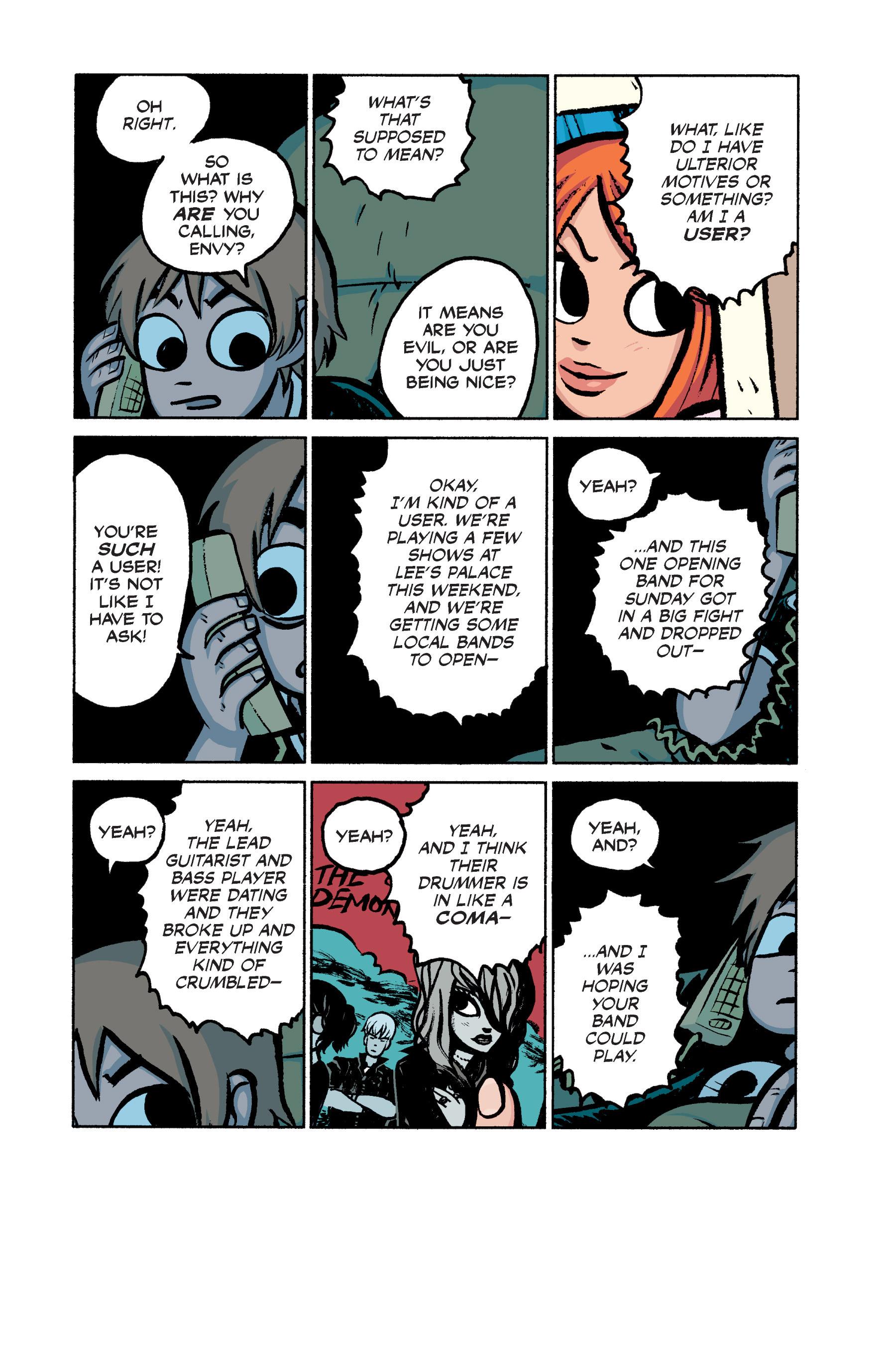 Read online Scott Pilgrim comic -  Issue #2 - 154