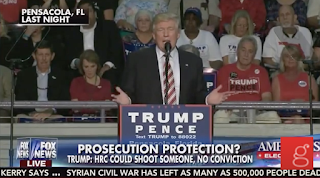 Trump: Clinton 'Could Shoot Somebody With 20K People Watching' And 'Wouldn't Be Prosecuted' :: Grabien - The Multimedia Marketplace