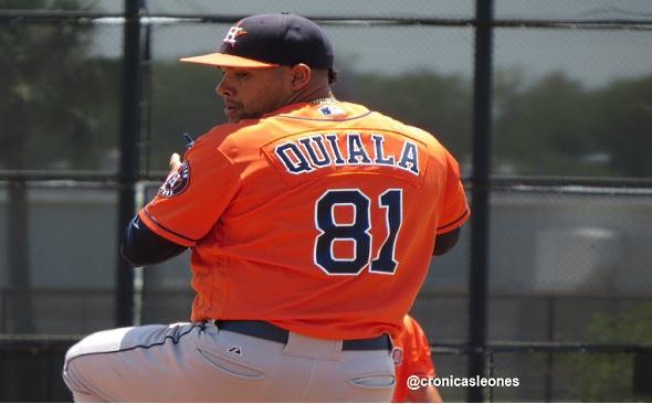 Primer pitcher contratado por #Leones - Cubano Yoanys Quiala - Numeros ...