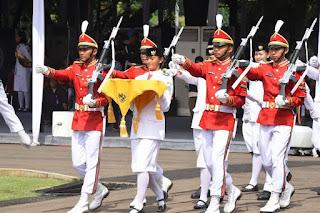 Panglima TNI : Tugas Gartap I/Jakarta Siapkan dan Latih Paskibraka Nasional