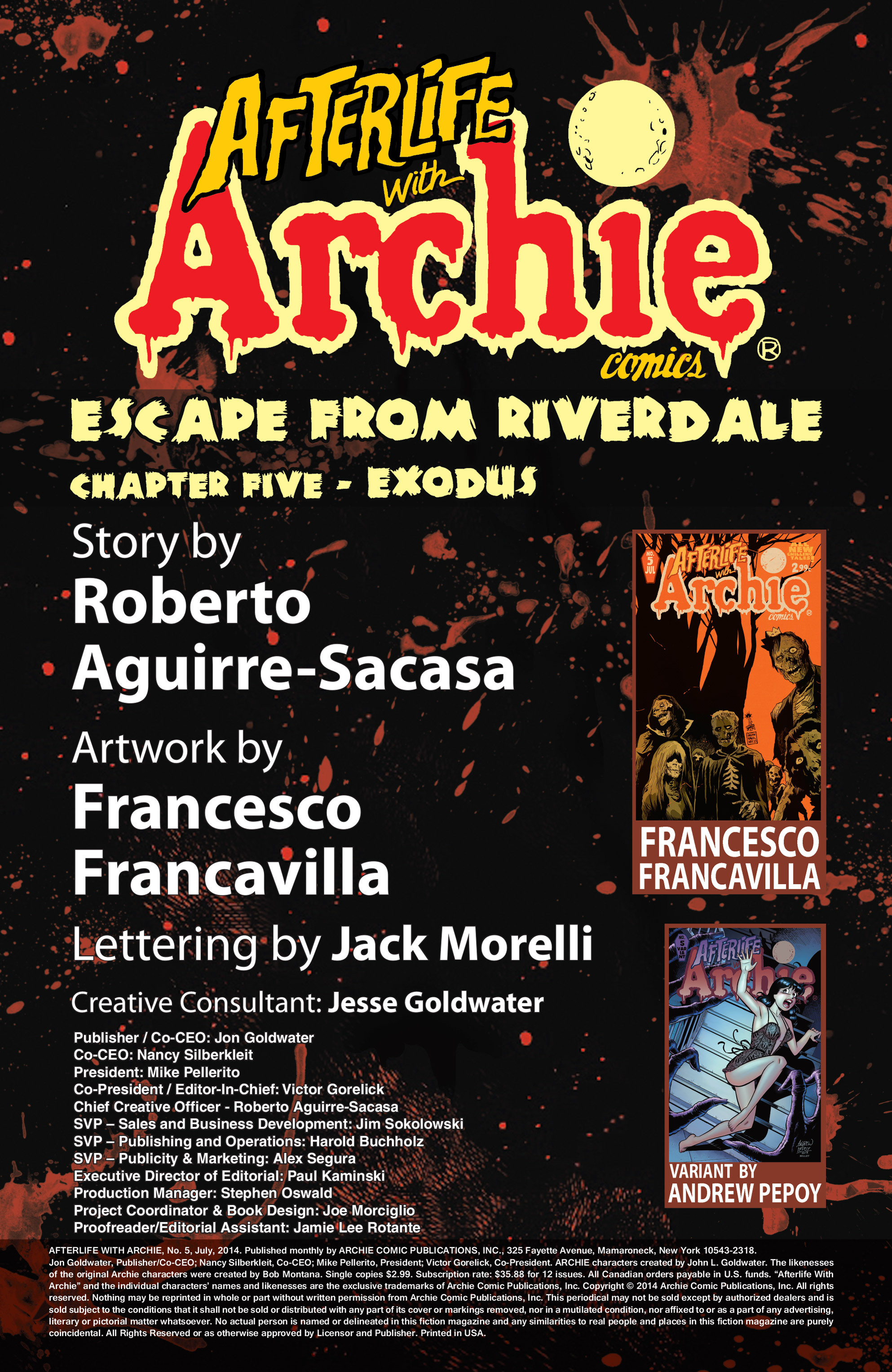Read online Afterlife with Archie comic -  Issue #5 - 2