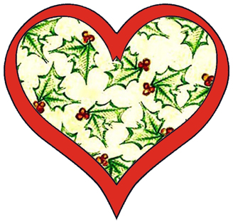 ArtbyJean - Paper Crafts: CUTE LITTLE HEARTS IN CHRISTMAS COLORS - A ...