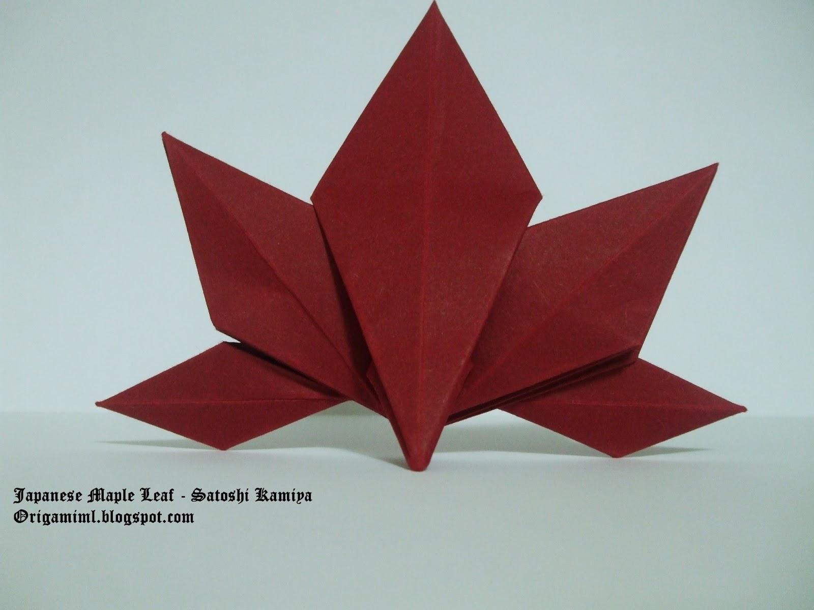 Origami Is For Everyone: Japanese Maple Leaf - Satoshi Kamiya - photo#37