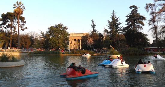 Parques em Santiago do Chile
