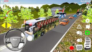 Game Simulasi Bus Android - IDBS bus simulator lintas sumatera