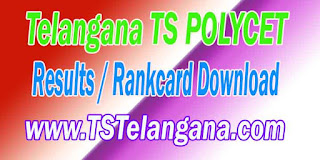Telangana TS POLYCET 2017 RankCard TSPOLYCET Results Download